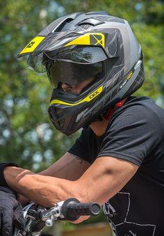 CKX 2016 - Dual Sport Summer Helmet - Quest RSV Liberty - Yellow mat - ckxgear.com