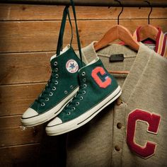 CONVERSE ALL STAR LETTERED-CARDIGAN HI #sneaker