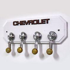 Champion Spark Plugs Upcycled Into Key Rack Garage Car