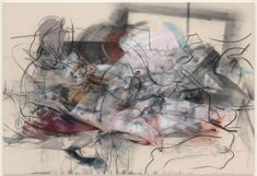 """London – Jenny Saville: """"Oxyrhynchus"""" at Gagosian Gallery, through July 2014 Figure Painting, Painting & Drawing, Life Drawing, Gesture Drawing, Woman Painting, Jenny Saville Paintings, Gagosian Gallery, Mark Making, Various Artists"""