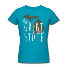 New Design - The Great State available at www.downwithdetroit.com