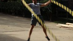 Wind Sprints for Your Arms: 15 Battle Rope Exercises (via @Art of Manliness)