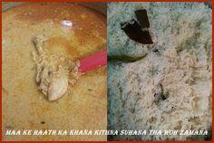 Badami Murgh korma with Baghara hua Chawal, For recipe click the link below- https://www.facebook.com/433851030056899/photos/pb.433851030056899.-2207520000.1412171929./513008325474502/?type=3&theater