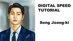 How to make easy fast Digital Portrait of Song Joong Ki 송중기 Celebrity Drawings, Song Joong Ki, Digital Portrait, Make It Simple, Sketches, Portraits, Songs, Celebrities, Easy