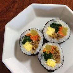 Korean food, Kimbob.