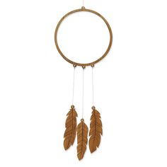 Our Dreamcatcher Wooden Mobile is laser cut from FSC Certified Bamboo and comes fully assembled so all you have to do is hang it up and enjoy!  Includes: 1 Ring & 3 Feathers tied together with natural hemp cord.  MEASUREMENTS Dreamcatcher hangs approx. 60cm long and 15cm wide  Please note: Because of the natural nature of Bamboo, colours and grain will vary from images shown. Mobiles are made to order. They are assembled by 2 very busy hands and may take up to 15 working days.