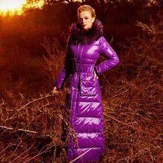 Svrchní bunda z purpurové barvy z TM BLESSEDLY