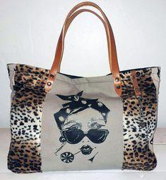 9abec3dc09 Sac à main sac cabas en tissu uni imprimé pinup et chat, tissu imitation  fourrure