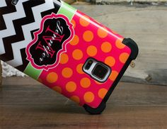 New Shock Proof Monogram Cases. Personalization and protection all in one.