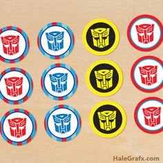 printables toppers transformers - Pesquisa Google