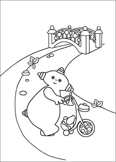 In The Night Garden Coloring Pages 11