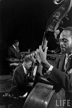 Modern Jazz Quartet (Gjon Mili. 1961)