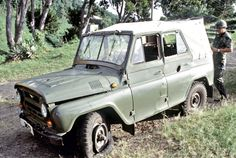 A captured UAZ.