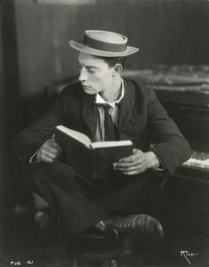 indypendent-thinking:  Buster Keaton in 1925. (Arthur Rice) (via...