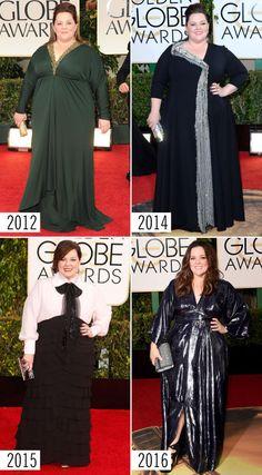 13 Golden Globe Celebrity Style Evolutions