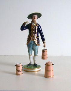Derby Porcelain Manufactory English, 1750-1848  Milkman, c. 1790