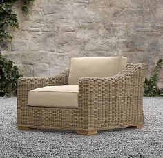 Wicker Lounge Chair,    cute.!!!
