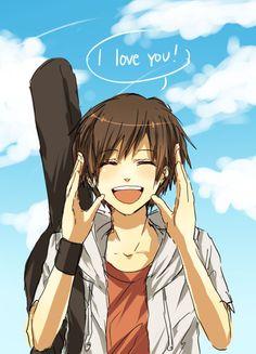 Zu den beliebtesten Tags für dieses Bild zählen: anime, love, I Love You, boy und cute