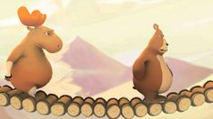 El puente: Sus protagonistas son un mapache, un oso, un consejo y un ciervo: enseñará a los estudiantes el respeto a los demás y el consenso a la hora de resolver los problemas y no mirar siempre por los intereses personales.