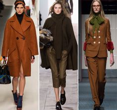 Модные коричневые цвета в 2016 году