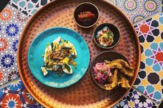 Whether you call them tapas, mezze, finger food or antipasti, small (or shared) plates are trending in the culinary capitals of the world. Tapas Menu, Tapas Bar, Chefs Warehouse, Charcuterie, Best Tapas, Slice Of Bread, Pork Belly, Pork Roast, Cape Town