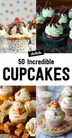 The 50 Most Delish Cupcakes