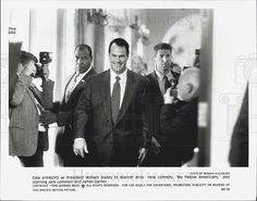 1996 Press Photo Dan Aykroyd Actor My Fellow Americans Comedy Film Movie - Historic Images