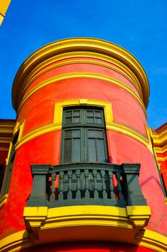 """Barranco District in Lima, Peru.  Photo """"Red With Yellow Trim"""" by Chris Taylor"""