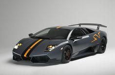 Lamborghini Murcielago'dan Bir Görüntü