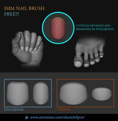 IMM Nail Brush Eye Drawing Tutorials, Digital Painting Tutorials, Drawing Tips, Digital Paintings, Zbrush Tutorial, 3d Tutorial, Zbrush Character, Character Art, Character Design