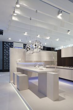 Italian kitchen cabinets by ARRITAL Cucine at Greater Vancouver area. Ceramic Gres finish - doors, countertop, backsplash, floor - no scratches and stains at all. Available at European Kitchen Art, Vancouver BC Canada