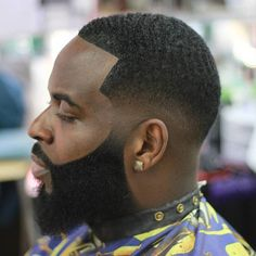 Short Fade With Waves And Line Up