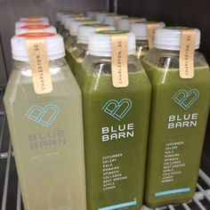 Who couldn't use some Daily Detox or Sweet Greens? #BlueBarn #ColdPressed #Chas