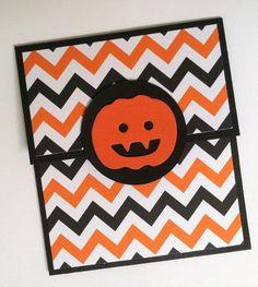 Halloween Gift Card Holder