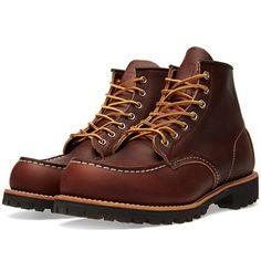 "Red Wing 8146 Heritage Work 6"" Moc Lug Boot (Briar Oil Slick)"