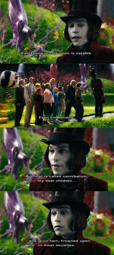 Charlie and the Chocolate Factory Quote