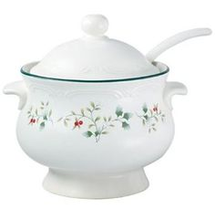 Soup tureen. I'd totally use this for a punch bowl without the lid.