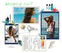 """#beachhair"" by sparky385 ❤ liked on Polyvore featuring H&M and Bumble and bumble"