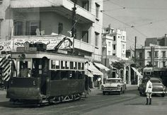 Beirut Tramway, at The End of Horsh Line 1955 Baalbek, Tramway, Arab World, Beirut Lebanon, Miss World, Heaven On Earth, Old Pictures, Vintage Pictures, Syria