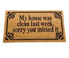 Covoras de intrare Clean House - Vivre