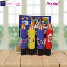 This pencil shaped compass box is made of good quality plastic, which makes it durable and safe to use by kids. This is enough to keep daily stationery essentials of kids. With interesting shapes of learning products, kids will be more interested about learning new things. These are best used as return gifts for birthday parties or any other occasions. A small poster printed with different characters is pasted to the box which makes it look much better. Birthday Return Gifts, New Things To Learn, Compass, Free Gifts, Birthday Parties, Stationery, Essentials, Pencil, Characters