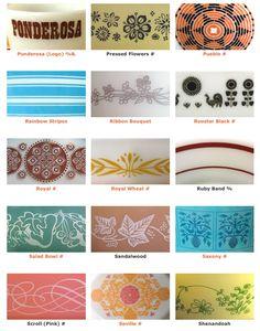 Pyrex patterns 8