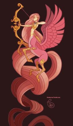 Character design pink love by meomai