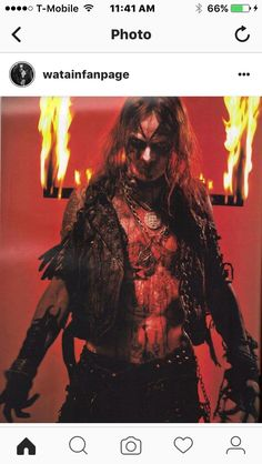 Watain are a Swedish black metal band from Uppsala, formed in 1998. The band's name is taken from a recording by the American black metal group Von. Wikipedia Members: Erik Danielsson, Pelle Forsberg, Håkan Jonsson