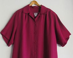 Plus Size Vintage, Vintage Shirts, Size 14, Polo Shirt, Tunic, Trending Outfits, Mens Tops, Clothes, Fashion