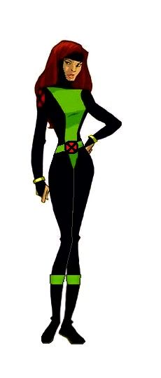 My X-men Evolution Jean Grey redesign#2
