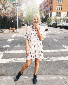 "2,993 Likes, 51 Comments - Josefin Dahlberg (@josefindahlberg.se) on Instagram: ""✨ Love my new dress ✨ Se fler bilder på bloggen ✨ länk i profilen ✨ #ootd #dress #nyc"""