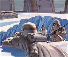 The first Snowtrooper helmets evolved into Imperial Cadet Helmets, as featured in Rebels.