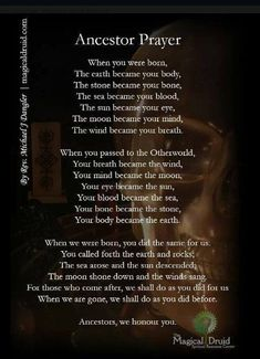 Samain: Ancestor Prayer, for by Rev. Michael J Dangler, an ADF Senior Priest and co-owner of The Magical Druid. Affirmations, Samhain Halloween, Magick Spells, Healing Spells, Wicca Witchcraft, Hoodoo Spells, Moon Spells, Candle Spells, Asatru