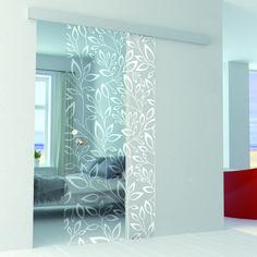Smart Home Design, Home Room Design, Home Interior Design, House Design, Glass Barn Doors, Sliding Glass Door, Sliding Door Design, Room Partition Designs, Bathroom Design Luxury